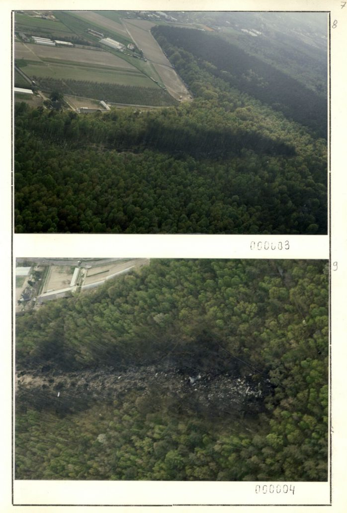 katastrofa lotnicza w lesie kabackim